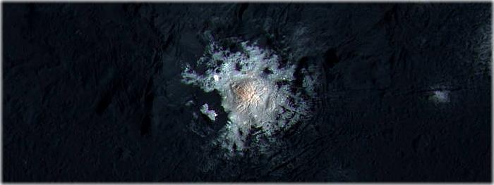 novas imagens close-up dos pontos brilhantes de Ceres