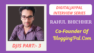 BloggingPal.com cofounder interview