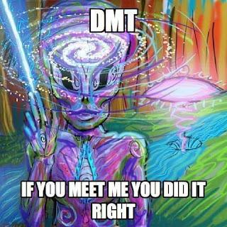 DMT machine elves