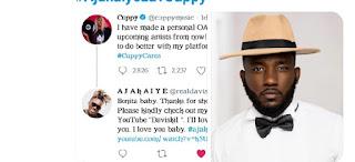 GX GOSSIP: Upcoming Artist Professed  Love For DJ Cuppy - Ajakaiye (Photos) #AjakaiyeLuvCuppy | @cuppymusic @realdaviskil