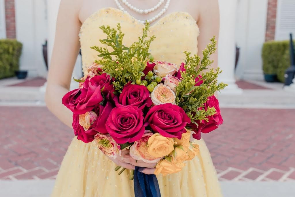Beauty and the Beast bouquet for wedding