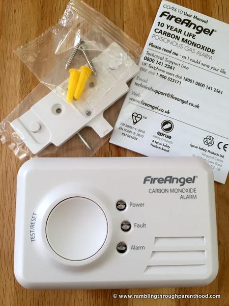 FireAngel Carbon Monoxide Alarm Giveaway