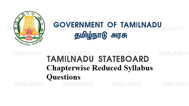 10th, 11th and 12th All Subject Chapterwise Reduced Syllabus Questions Download PDF