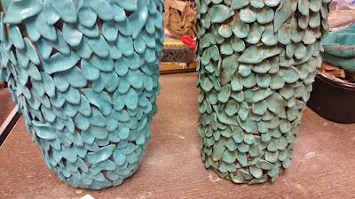 ceramic vase makeover
