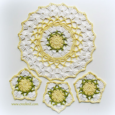 SPRING DOILY and COASTERS