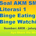 Soal AKM SMA Literasi 1 Binge Eating dan Binge Watching