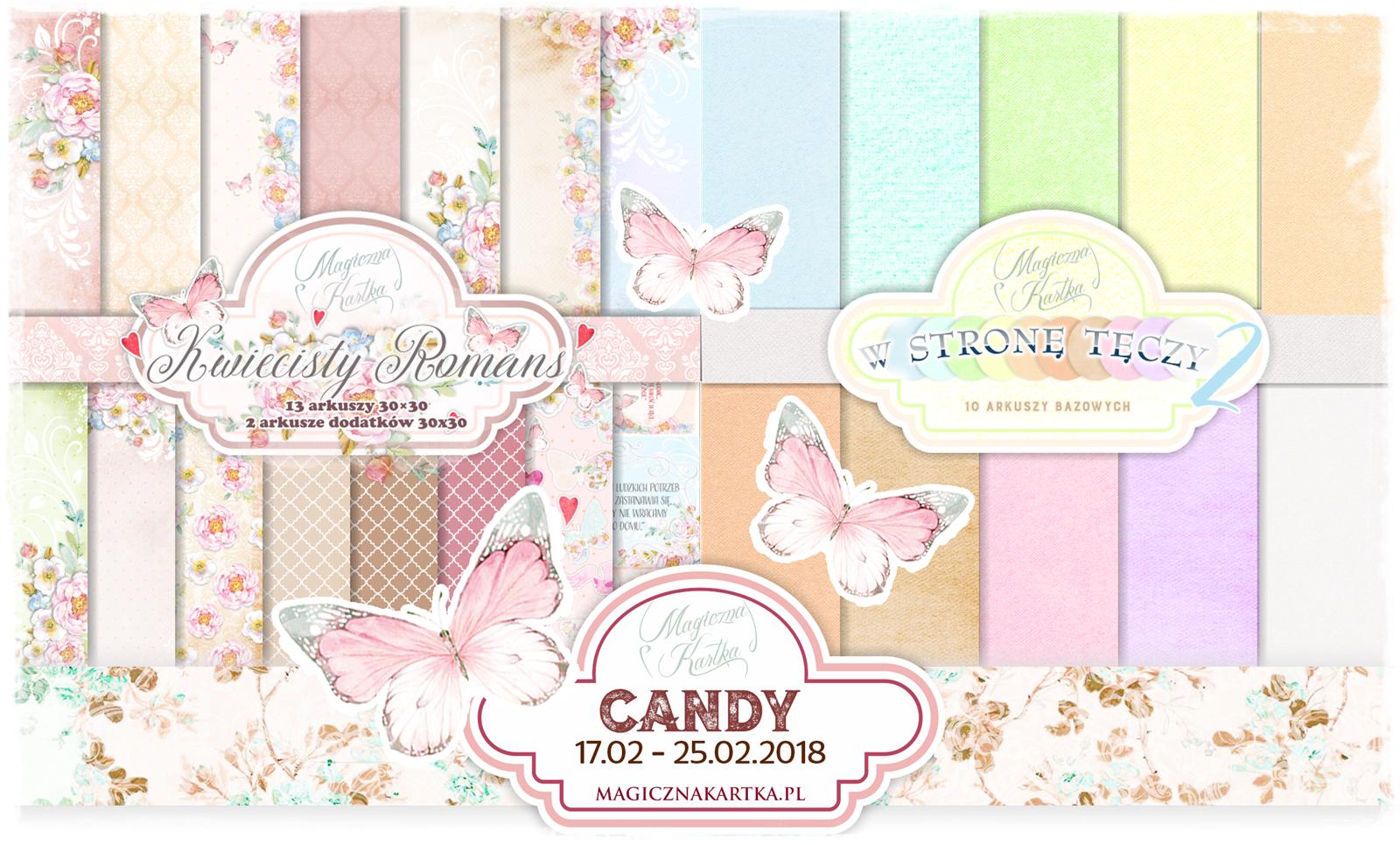 Candy Magicznej Kartki