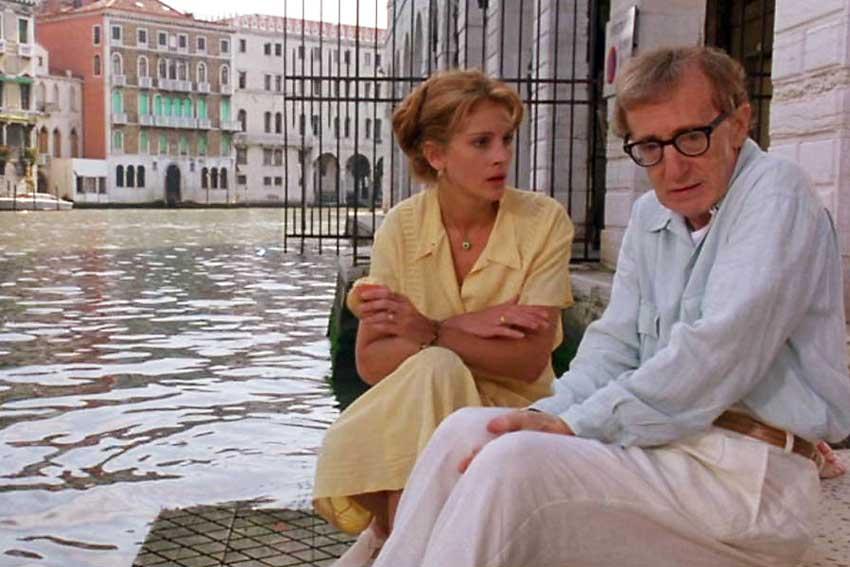 Filmy kręcone w Wenecji.