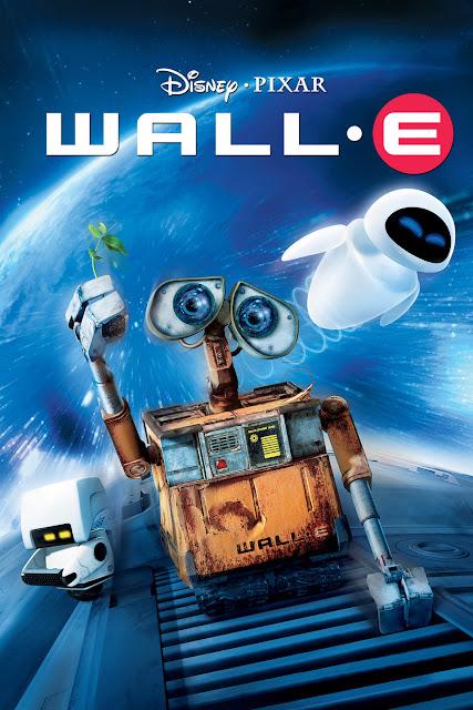 Cartel de la película de Disney Pixar Wall-e