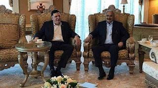 ليبيا، وقف إطلاق النار، المشير خليفة حفتر، عقيلة صالح، معمّر القذافي، حكومة الوفاق، فايز السراج، أ ف ب، الاناضول، رأي اليوم، حربوشة نيوز