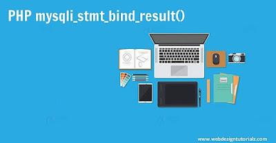PHP mysqli_stmt_bind_result() Function