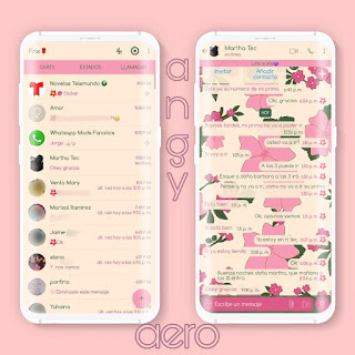 Flowers Theme For YOWhatsApp & Fouad WhatsApp By Ave fénix