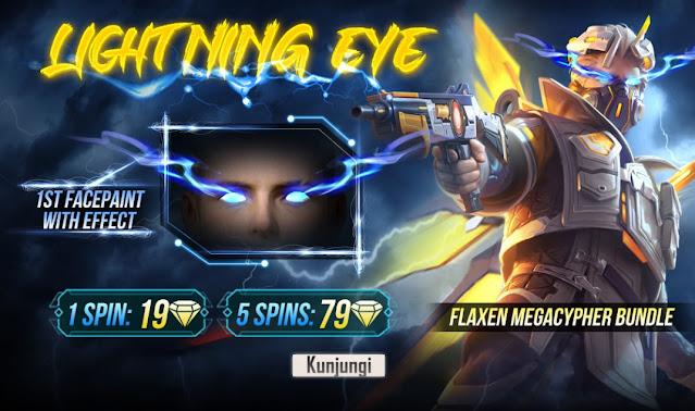 Bocoran Bundle Eye Flaxen Megacypher Bundle dan Lightning Eye FF