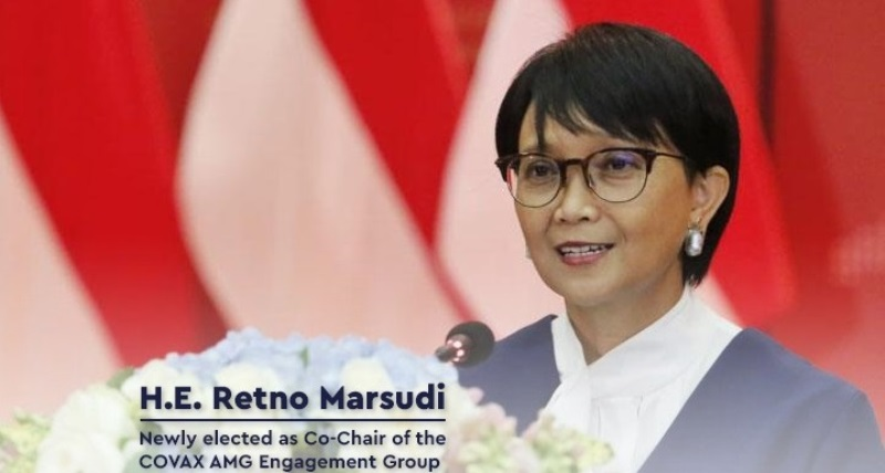 Menlu Retno Marsudi Pimpin Kerja Sama Vaksin Multilateral COVAX-AMC EG