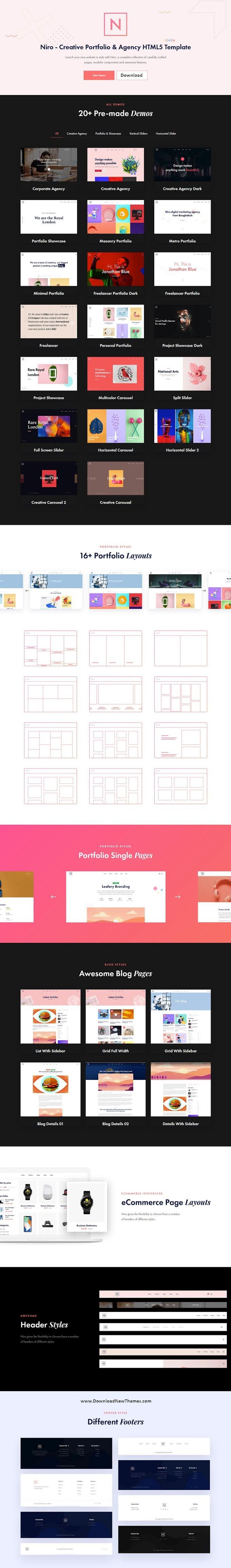 Creative Portfolio & Agency Bootstrap Template