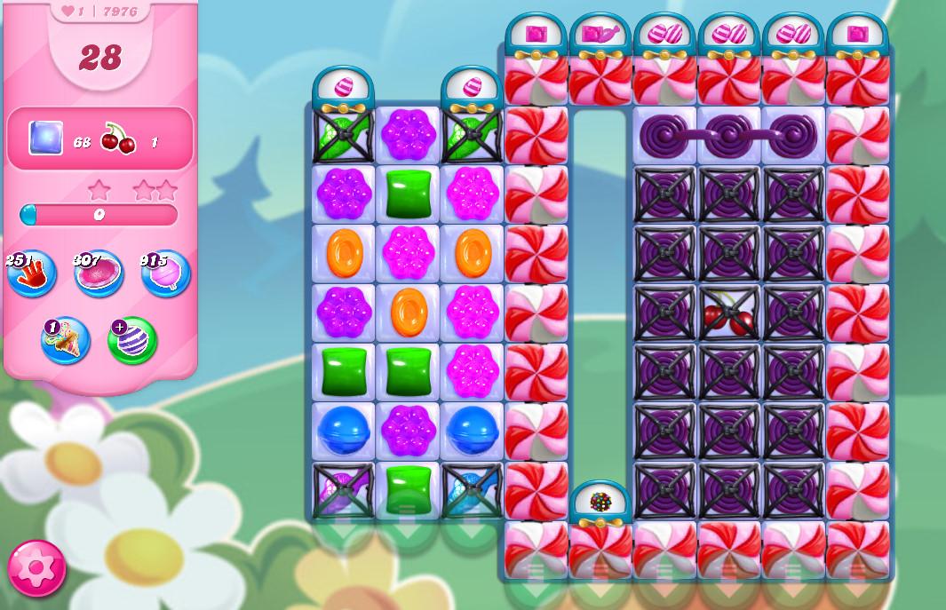 Candy Crush Saga level 7976