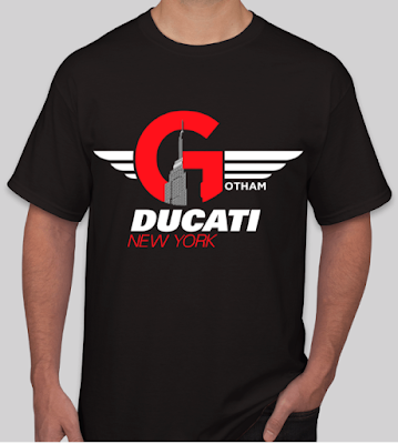2019 Gotham Ducati New York City T-Shirts