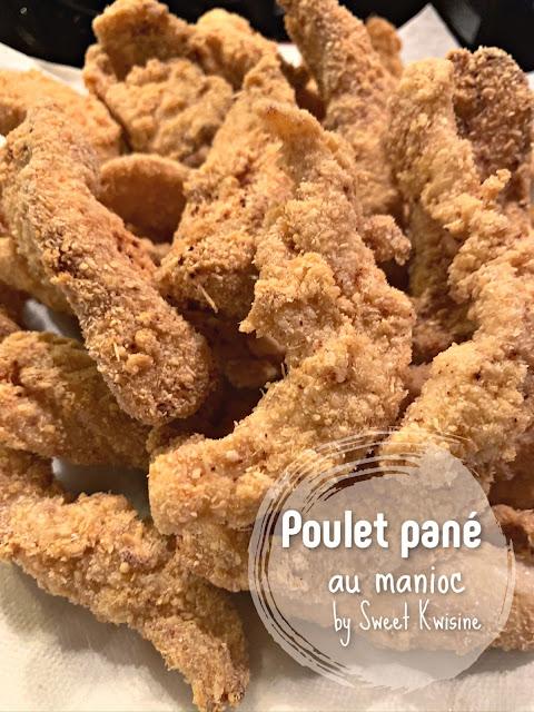 sweet kwisine, poulet, poulet pané, manioc, farine de manioc, chicken tenders, cuisine antillaise, cuisine créole, gros thym, martinique, guadeloupe, creol food, fingers, chicken fries,