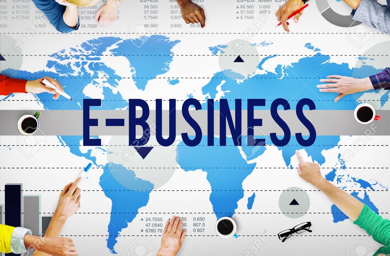 Pengertian E-Business perdagangan dalam internet