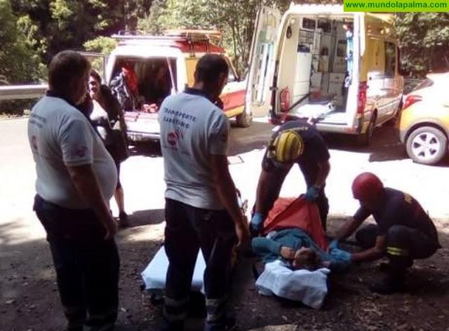 Rescatada una senderista en Marcos y Cordero