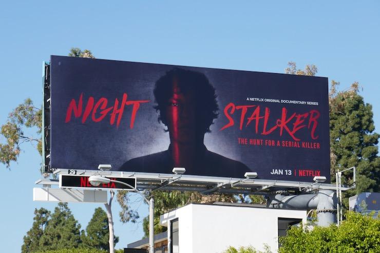 Night Stalker Hunt for Serial Killer billboard