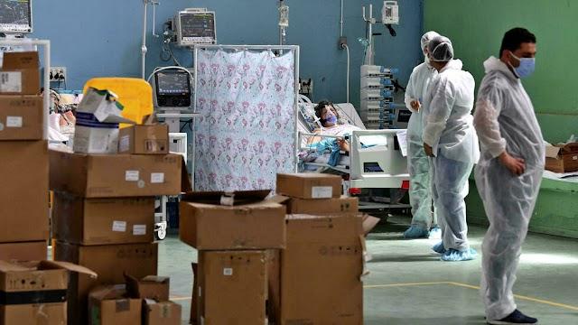 Tunisia hospitals struggle with Covid-19 'tsunami'