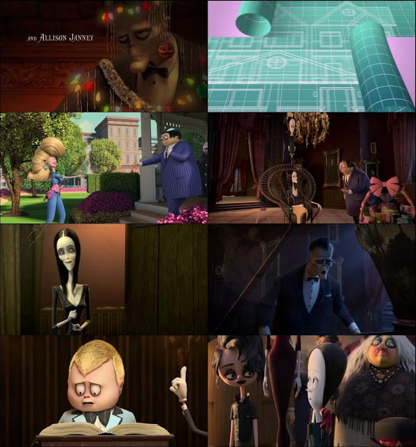 The Addams Family 2019 English 720p WEBRip
