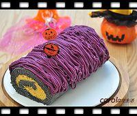 http://caroleasylife.blogspot.com/2015/10/halloween-roll-cake.html