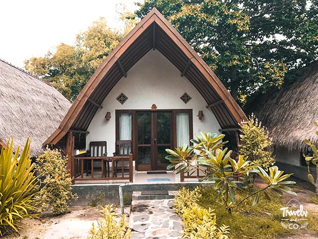 Dónde alojarse en Gili Meno aira bungalows