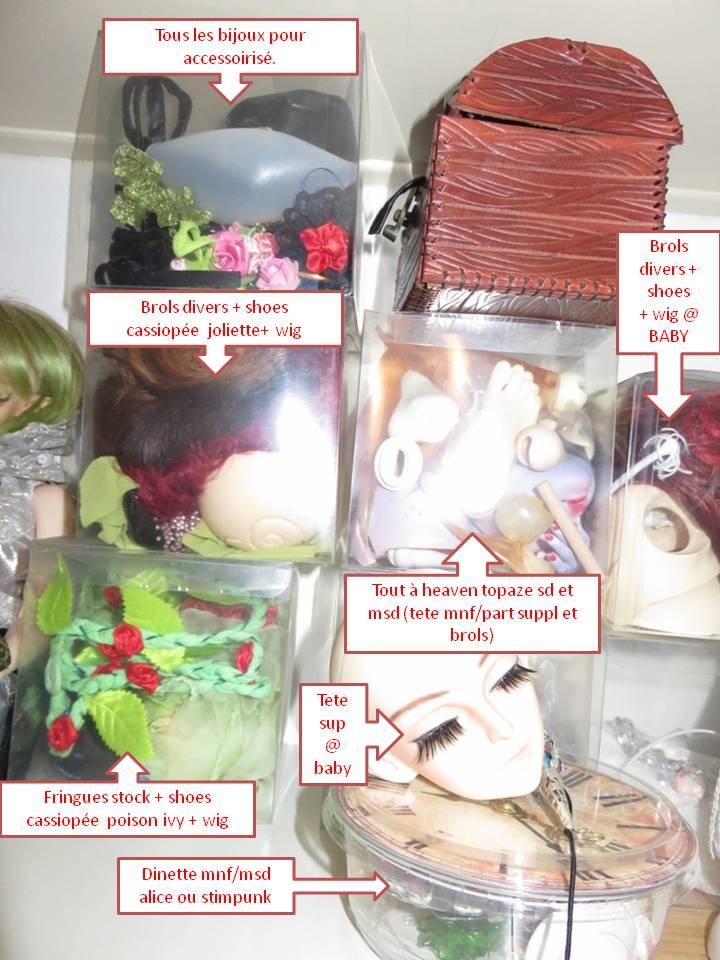 Comment rangez-vous les vêtements de vos poupées ? Diapositive4