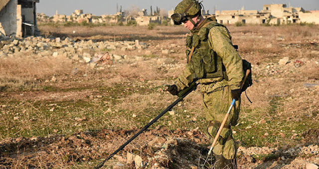 Russia: Syria's Deir Ezzor fully cleared of ISIS-laid mines - Like This Article