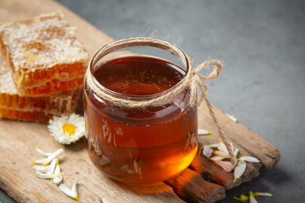 The benefits of honey for the treatment of laziness