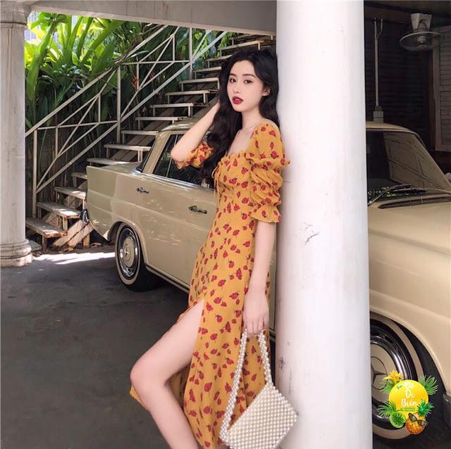 Shop ban vay maxi di bien tai Yen Hoa