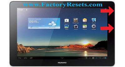 Hard Reset Huawei MediaPad 10 FHD