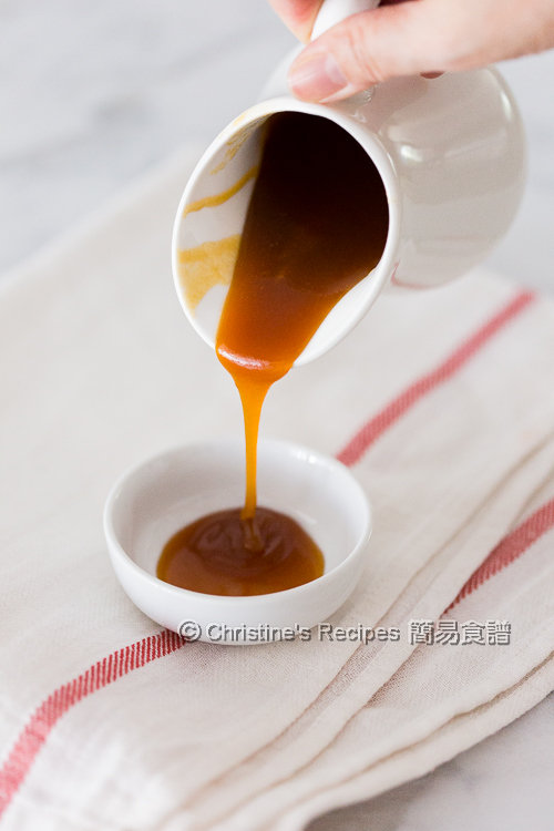 焦糖醬汁 Caramel Sauce01