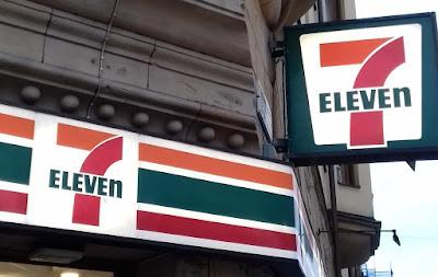 A 7-Eleven store in Stockholm, Sweden