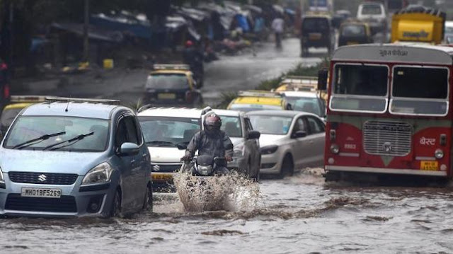 hotter climate causes torrential rains