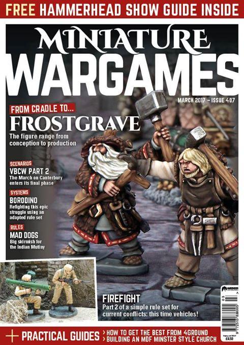 10mm Wargaming: Miniature Wargames 407, March 2017