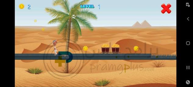 الصحراء في لعبة ابو خشم