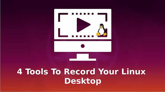 Masaüstünü kaydetmek için Linux araçları (ekran görüntüsü)