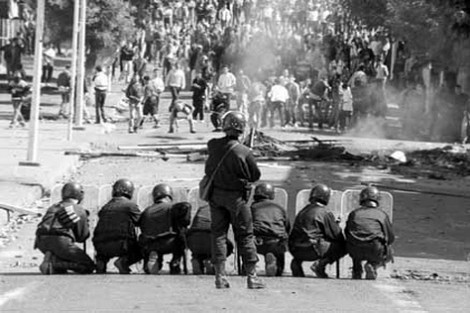 انتفاضة 1984 الريف المغرب