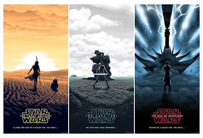 Star Wars Sequel Trilogy Screen Prints by Florey x Bottleneck Gallery