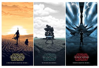 Star Wars Sequel Trilogy Screen Prints by Florey x Bottleneck Gallery