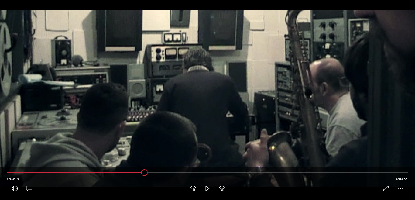 "VIDEO TEASER ""LONDON STUDIO SESSION"""