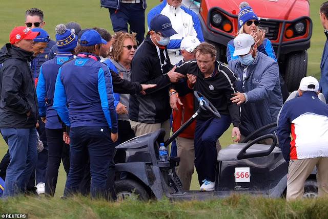 Tom Felton tranquiliza fãs após desmaiar em torneio de golfe   Ordem da Fênix Brasileira
