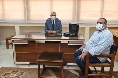 رئيس جامعة الفيوم يشهد اجتماع منسقي الجامعات المصرية