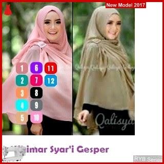 RYB057B Hijab Jilbab Cantik Khimar Murah Syari BMG Online Shop
