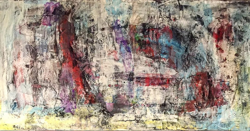 Abstract Paintings by Juro Kralovic from Canada. Contemporary Art