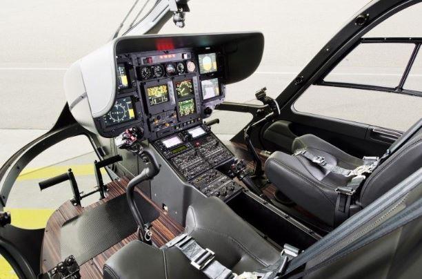 Eurocopter EC135 cockpit