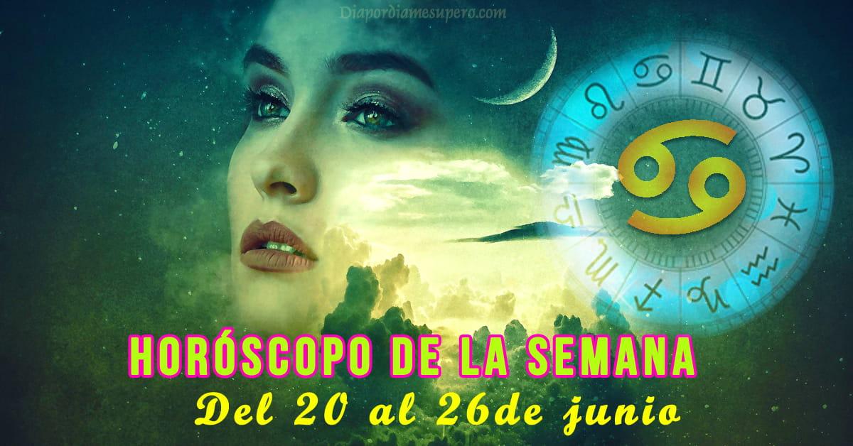 💫 Horóscopo de la semana: Del 120 al 27 de junio